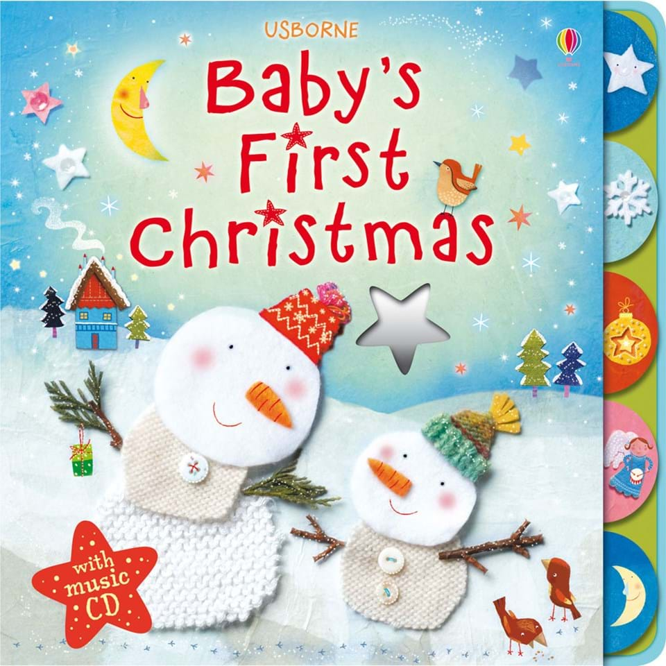 """""""Baby's first Christmas with music CD"""" at Usborne Children ..."""