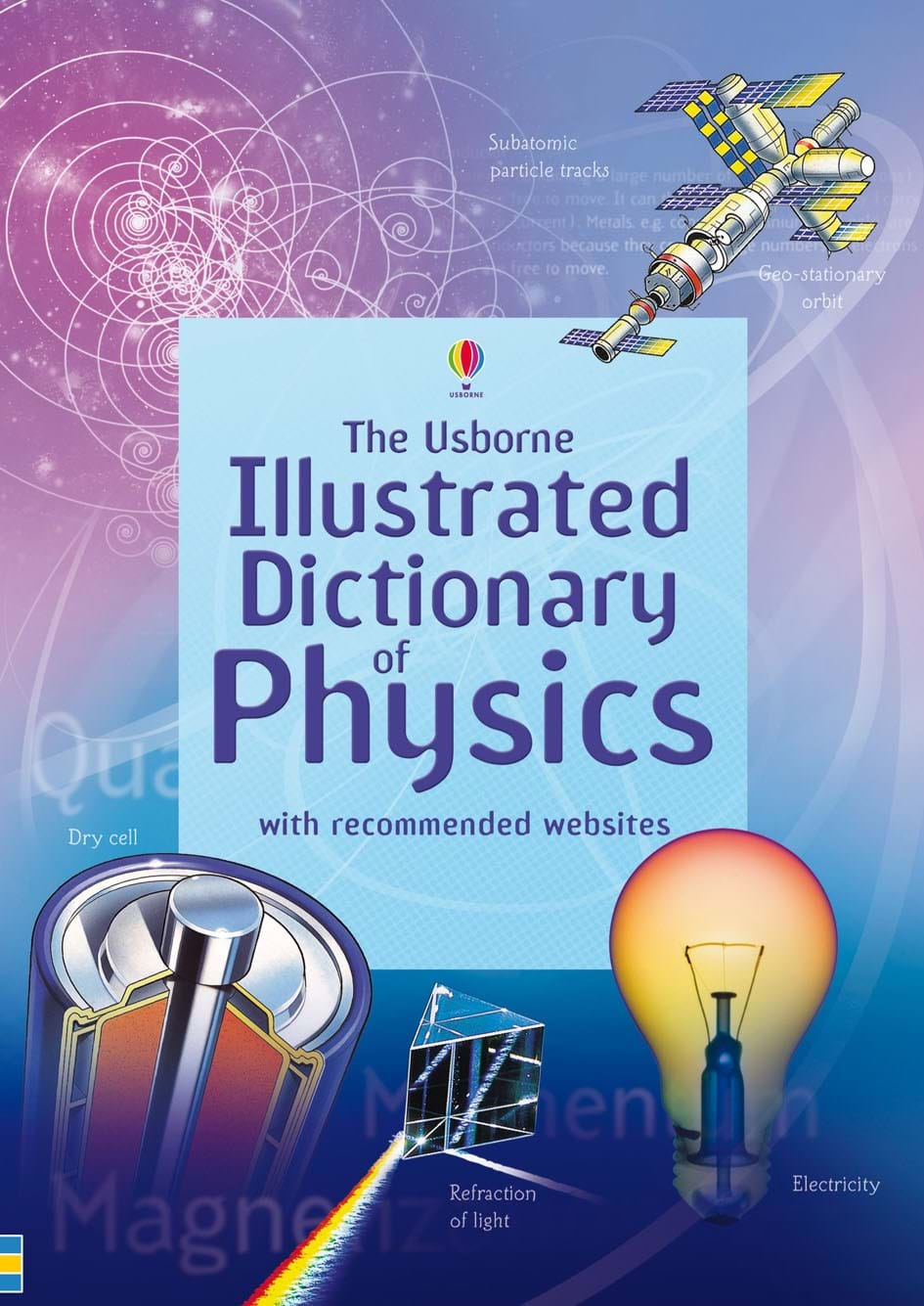 """Illustrated Book Cover Names : """"illustrated dictionary of physics at usborne children s"""