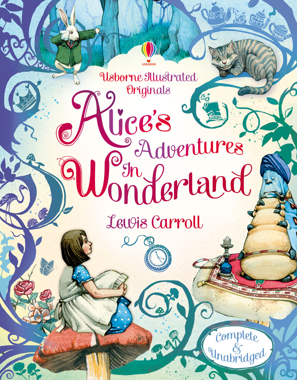 "Illustrated Book Cover Review : Write a review for ""alice s adventures in wonderland at"