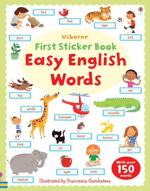 "Easy English words"" at Usborne Children's Books"