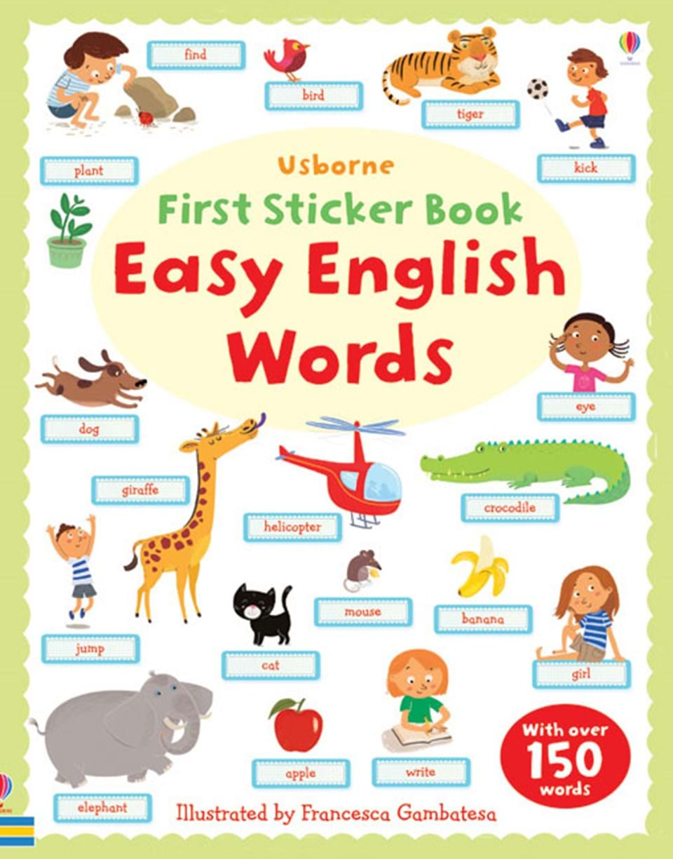 Easy English Words At Usborne Books At Home