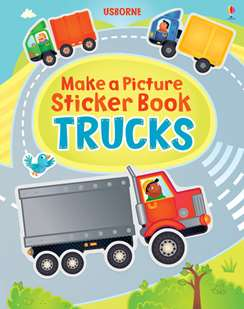 Make A Picture Sticker Books At Usborne Children S