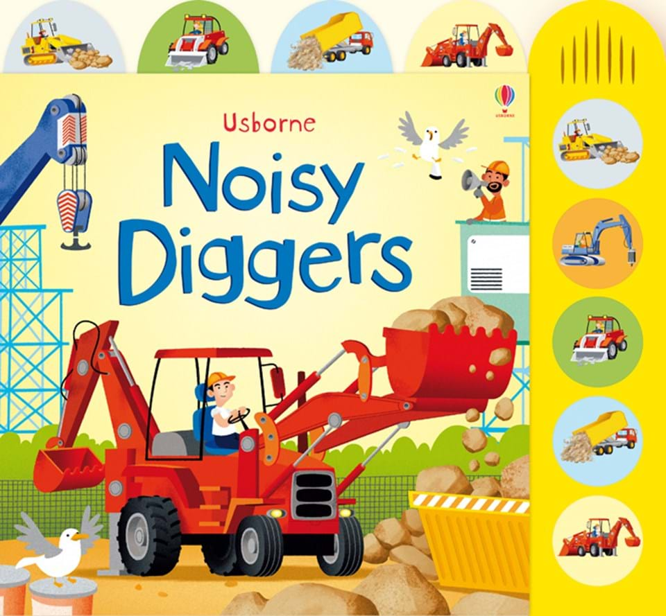 noisy diggers u201d at usborne books at home