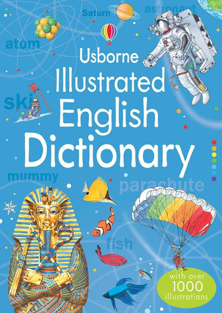 "Illustrated English dictionary"" at Usborne Children's Books"