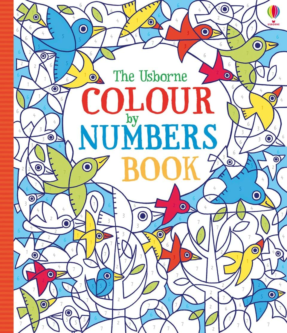 colour by numbers book - Color By Number Books