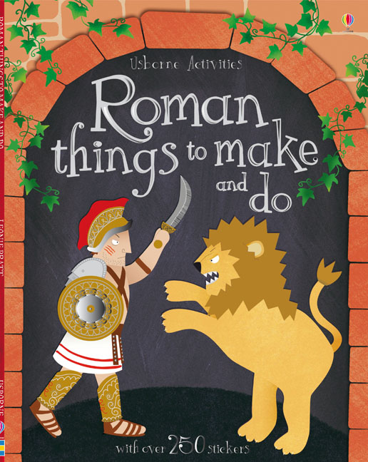 "Roman things to make and do"" at Usborne Books at Home"
