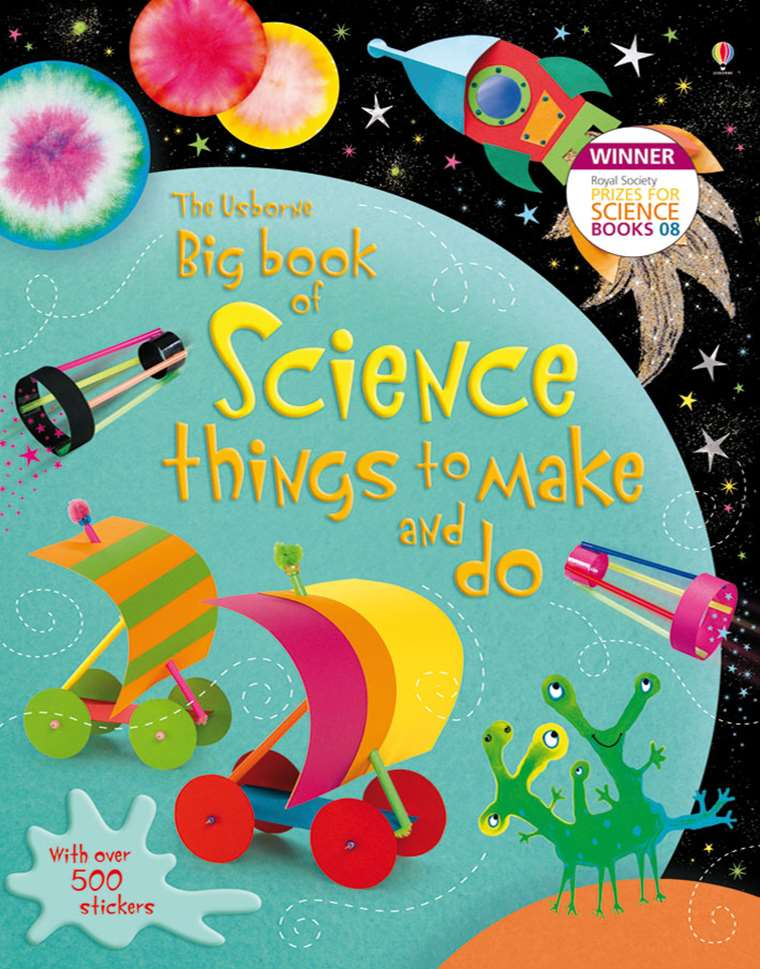 "Big book of science things to make and do"" at Usborne"