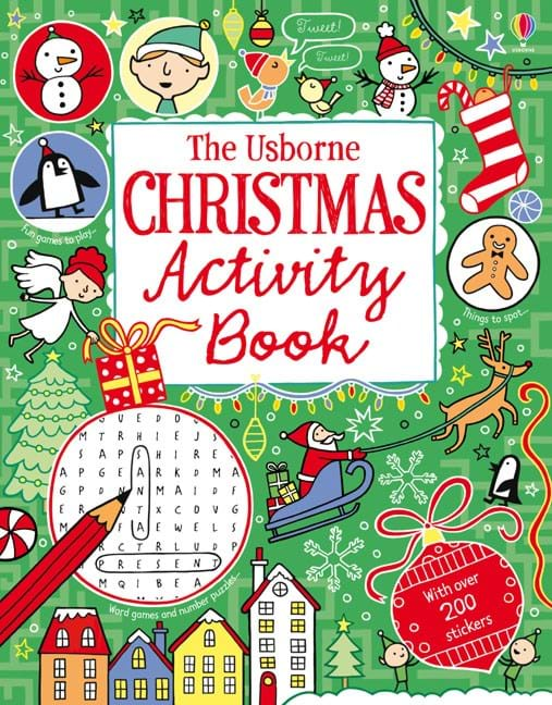 Christmas Activity Book At Usborne Children S Books