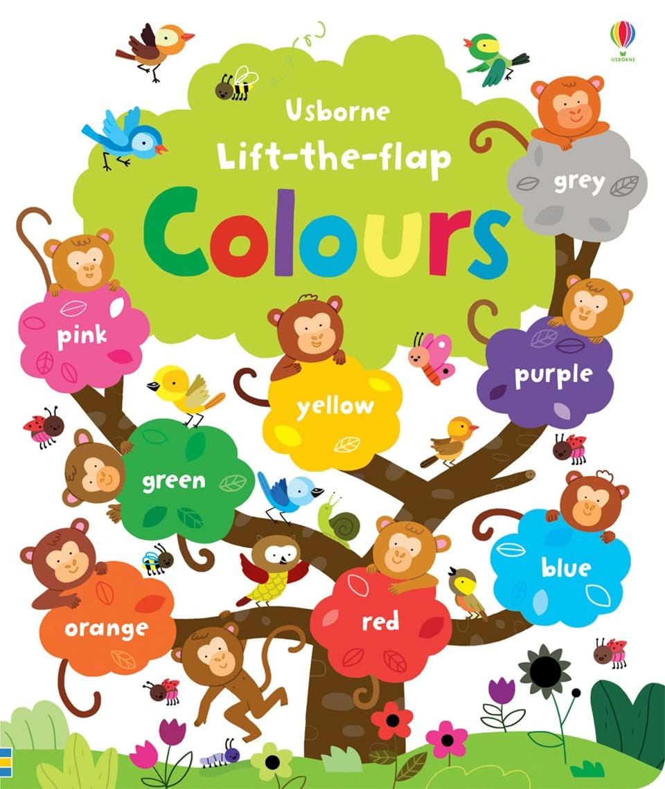 "Big book of colours"" at Usborne Children\'s Books"