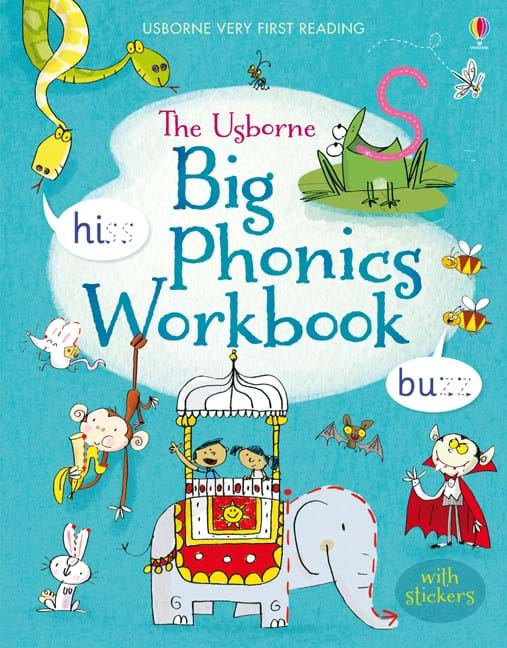 Big Phonics Workbook At Usborne Books At Home