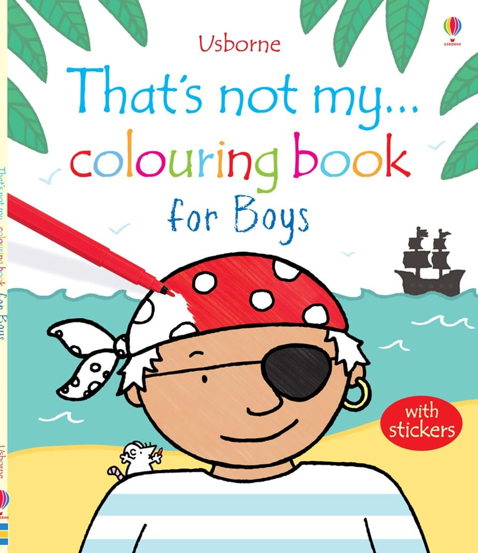 """That\'s not my... colouring book for boys"""" at Usborne Books at Home"""