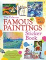Famous paintings sticker book