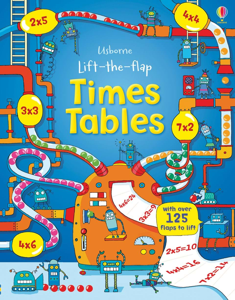 """Lift-the-flap times tables"""" at Usborne Children\'s Books"""