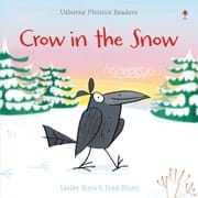 Crow in the snow