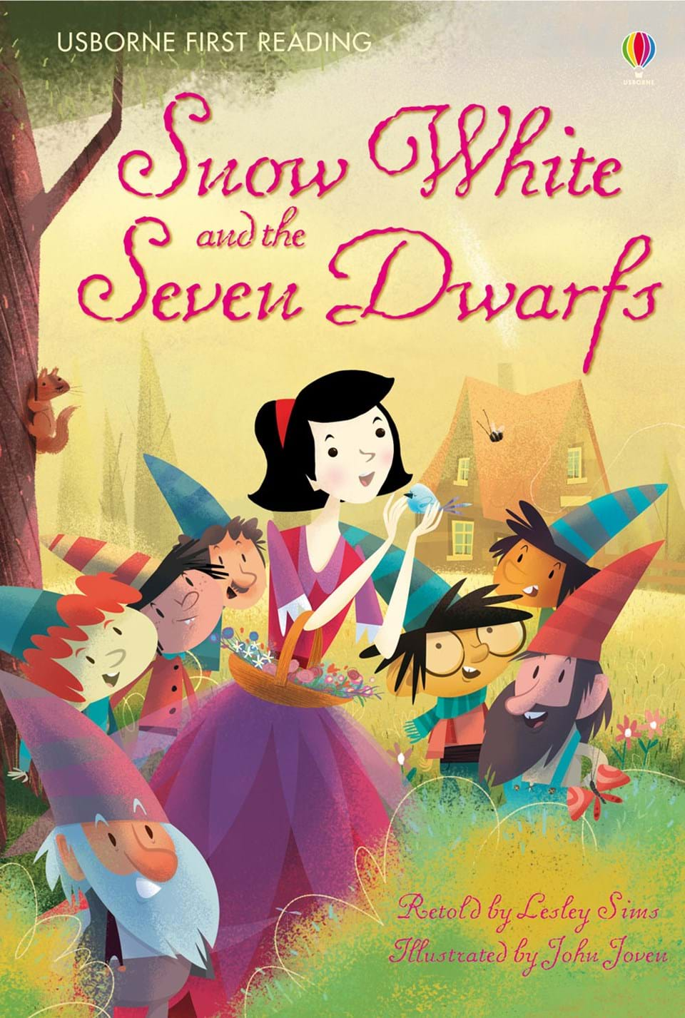 """Book Cover Of Snow White ~ """"snow white and the seven dwarfs at usborne books home"""