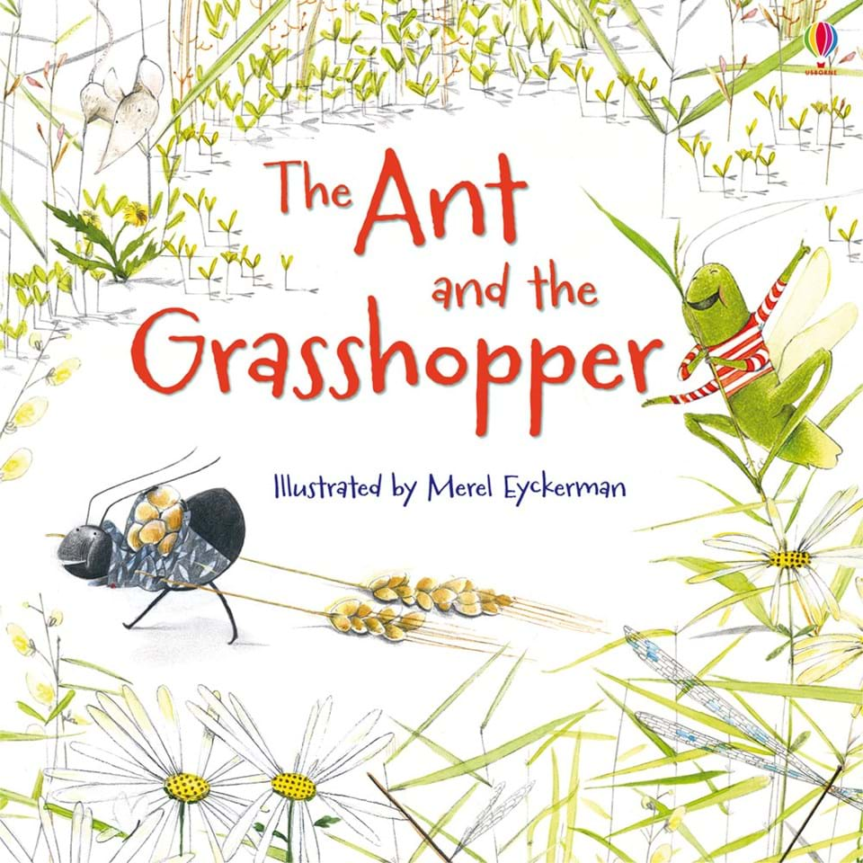 the ant and the grasshopper by Listen to the story 'the ant and the grasshopper' read by alison steadman read along and print the story transcript of this traditional fable.