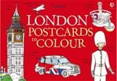 London postcards to colour