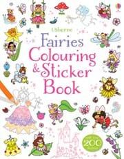 Fairies colouring and sticker book