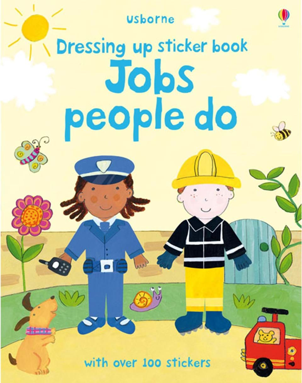 """People Occupations Jobs And Community At: """"Jobs People Do"""" At Usborne Books At Home"""