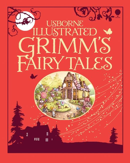 "Minimalist Fairy Tale Book Covers : ""illustrated grimm s fairy tales at usborne children books"