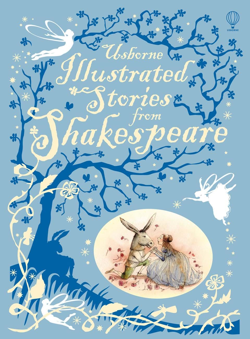 "Illustrated Book Cover ~ ""illustrated stories from shakespeare at usborne children"