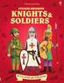 Sticker Dressing Knights and Soldiers