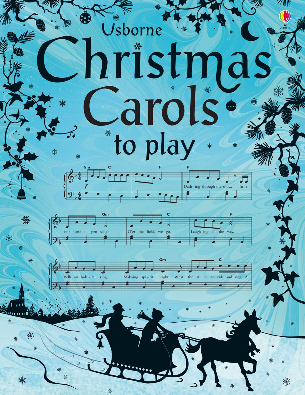 """Christmas carols to play"""" at Usborne Books at Home"""