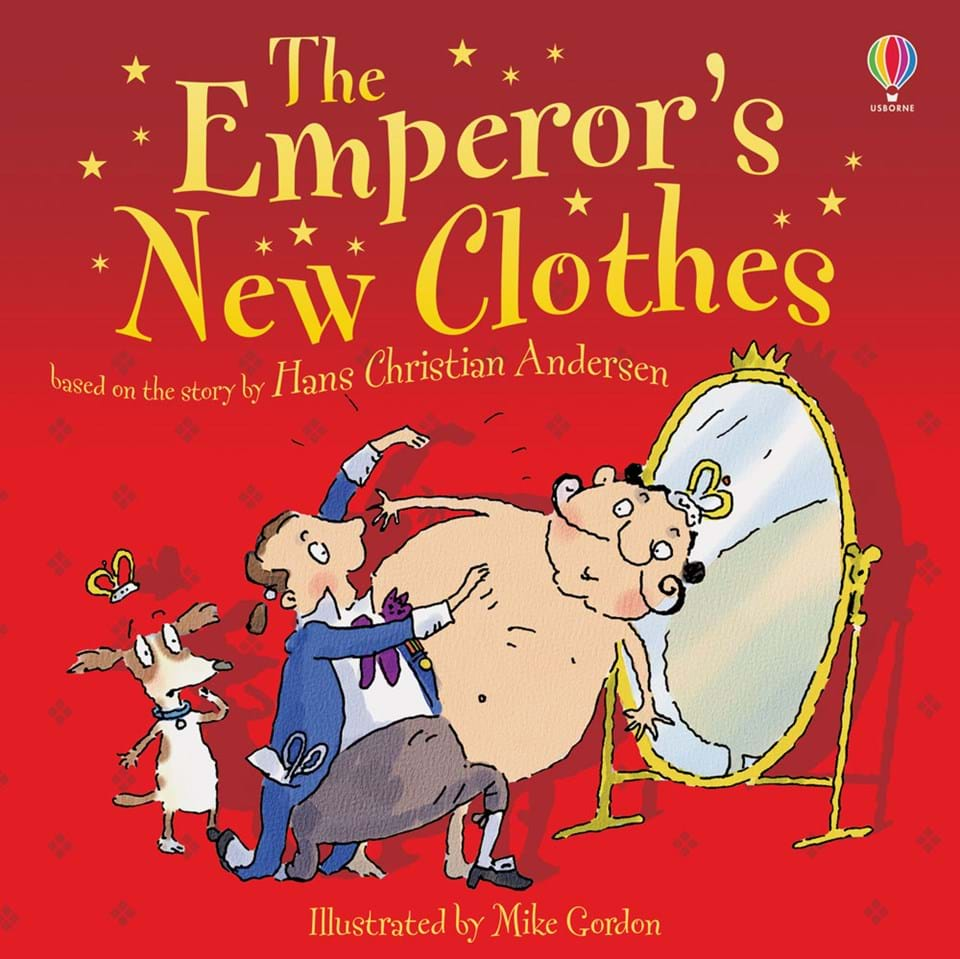 Image result for emperor's new clothes