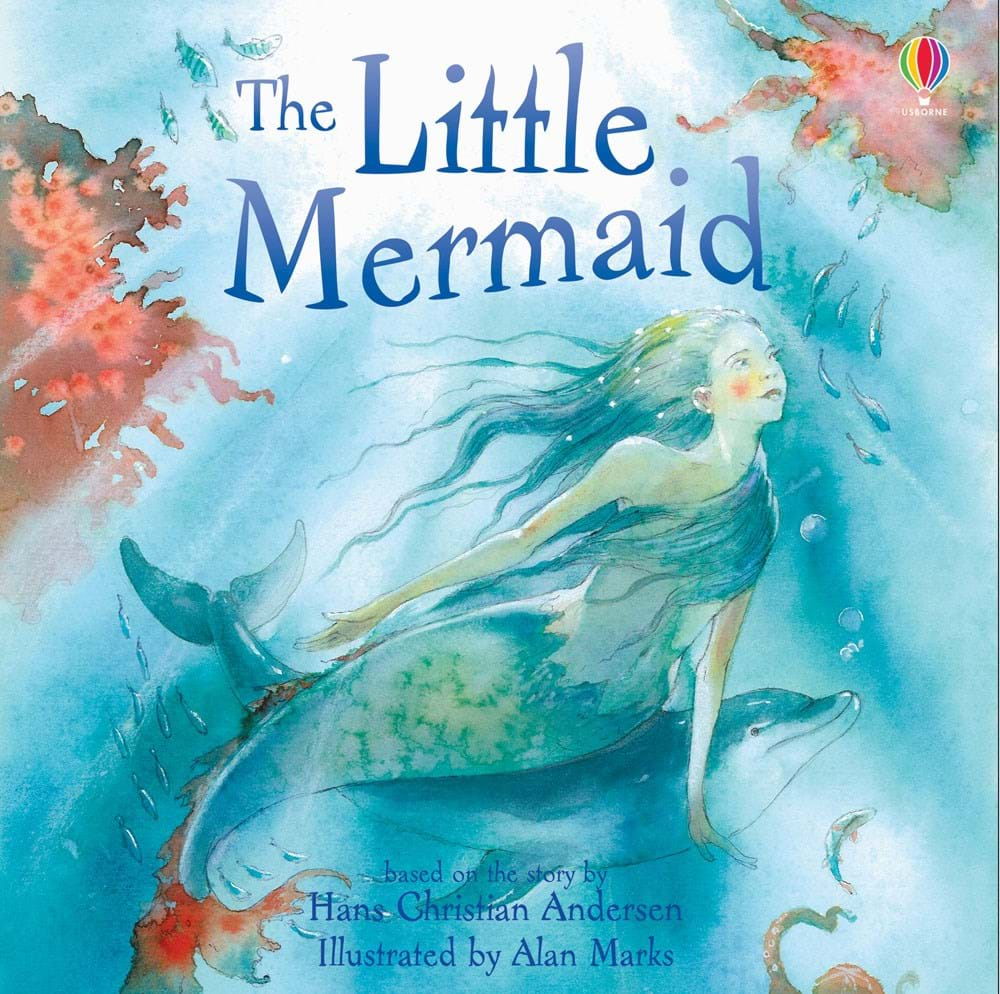 "Children S Book Covers Alan Powers : ""the little mermaid at usborne children s books"