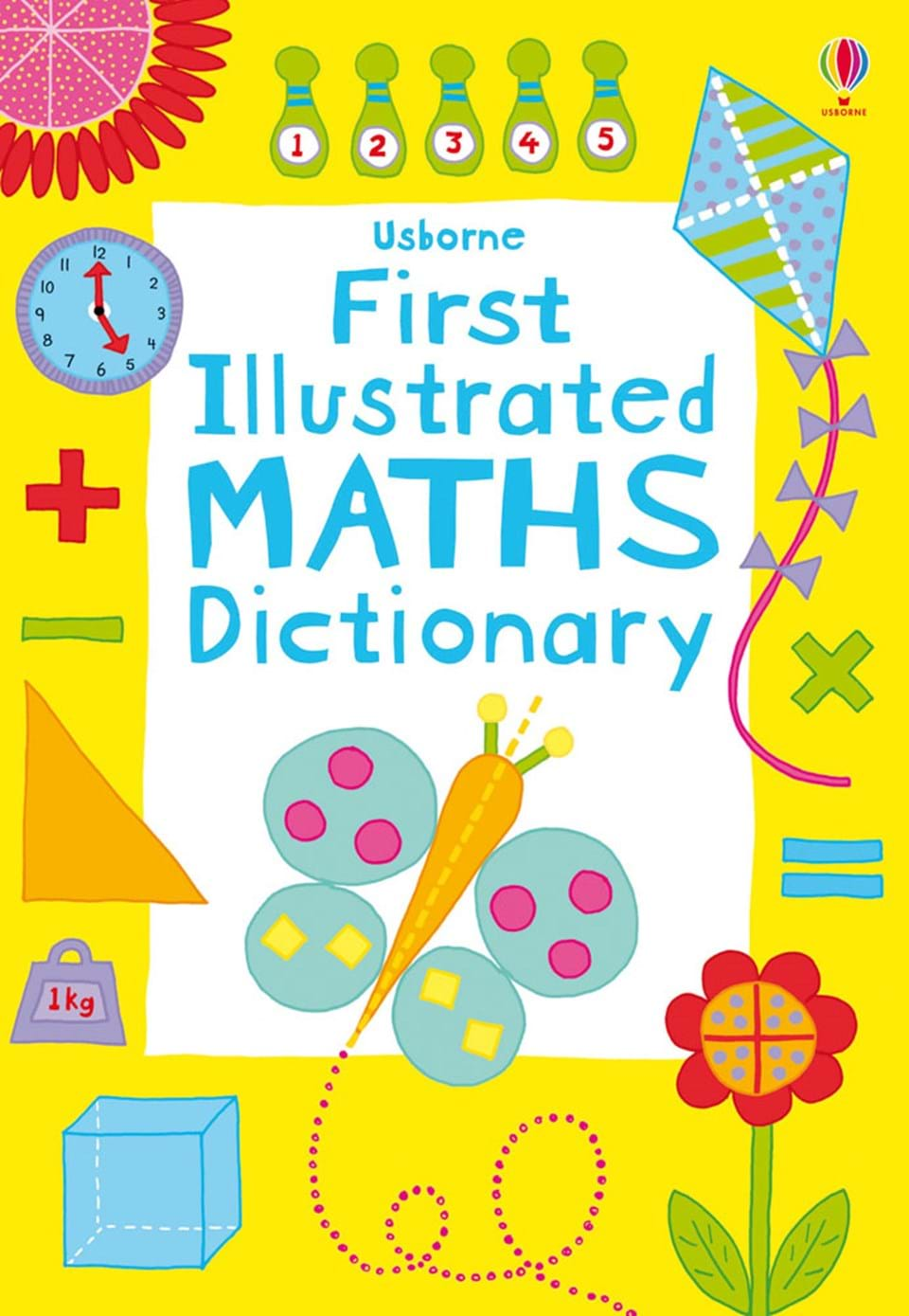 "First Illustrated Book Cover : ""first illustrated maths dictionary at usborne books home"