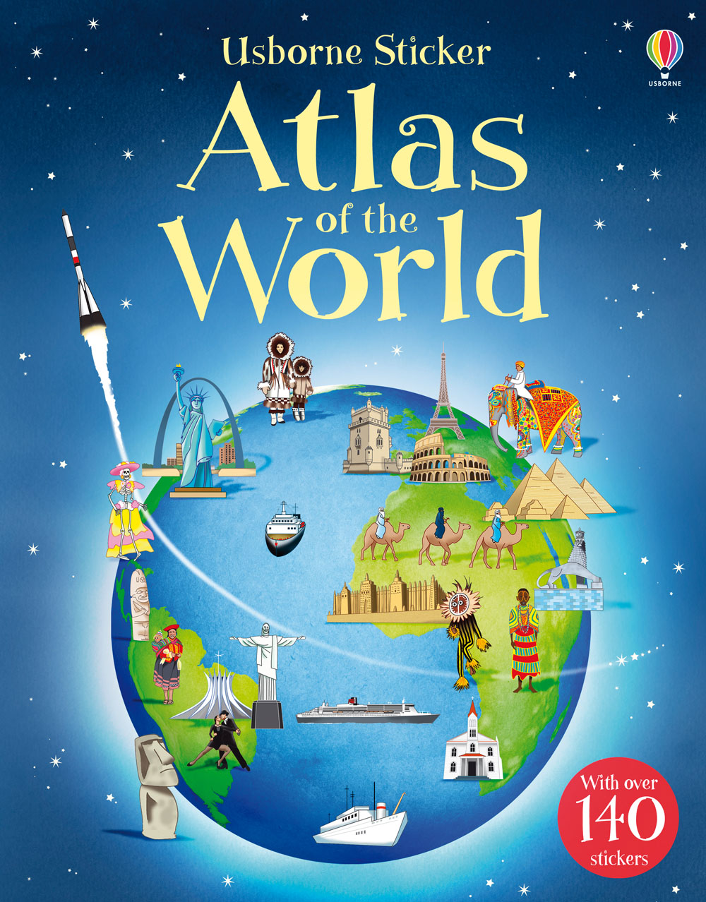 Write A Review For Sticker Atlas Of The World At Usborne