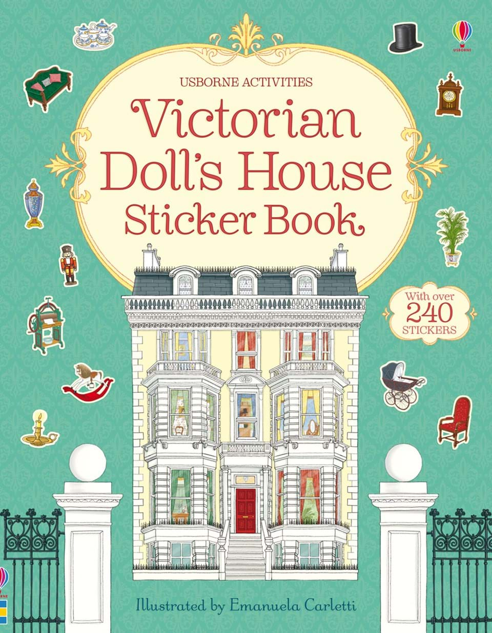 """Book Cover Forros House : """"victorian doll s house sticker book at usborne children"""