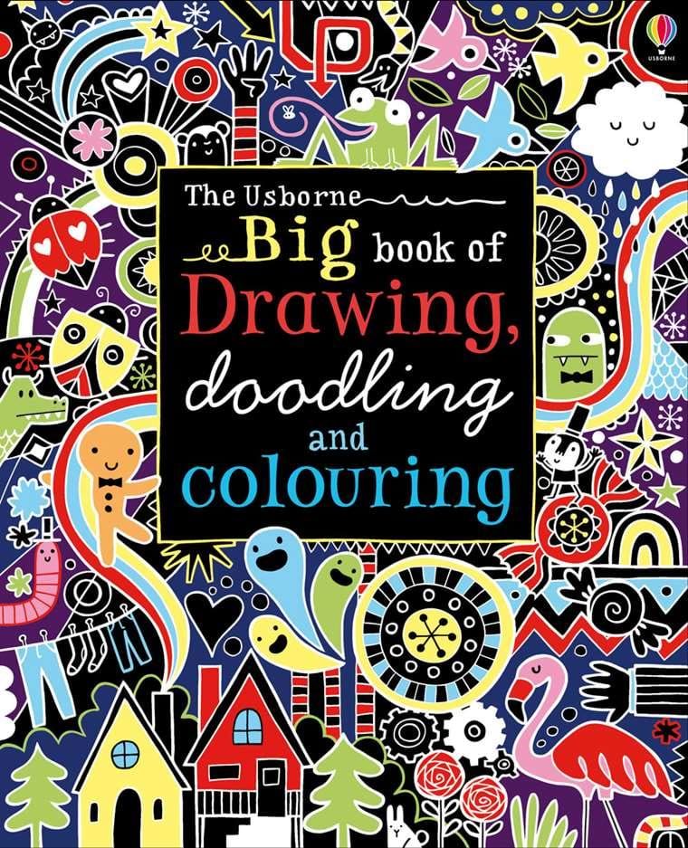 Big Book Of Drawing Doodling And Colouring At Usborne Children S Books