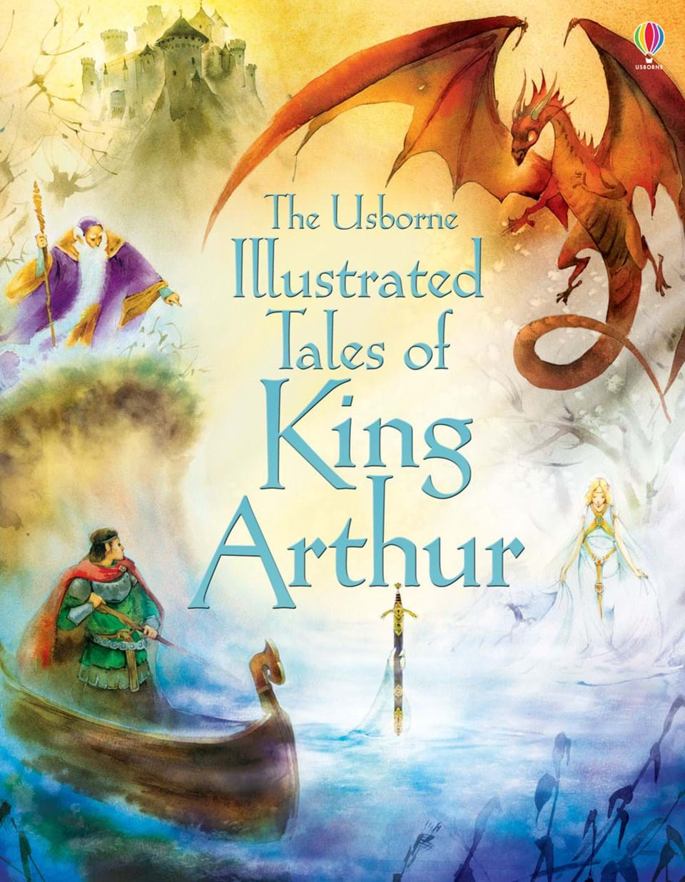 Watercolor books for kids - Illustrated Tales Of King Arthur