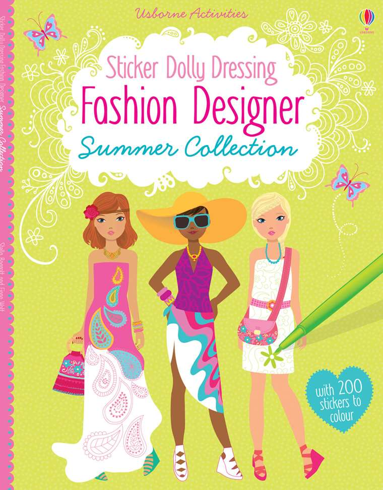 Fashion Designer Summer Collection At Usborne Children S Books