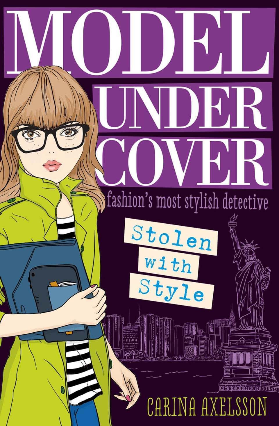 Model under cover stolen with style at usborne childrens books model under cover stolen with style altavistaventures