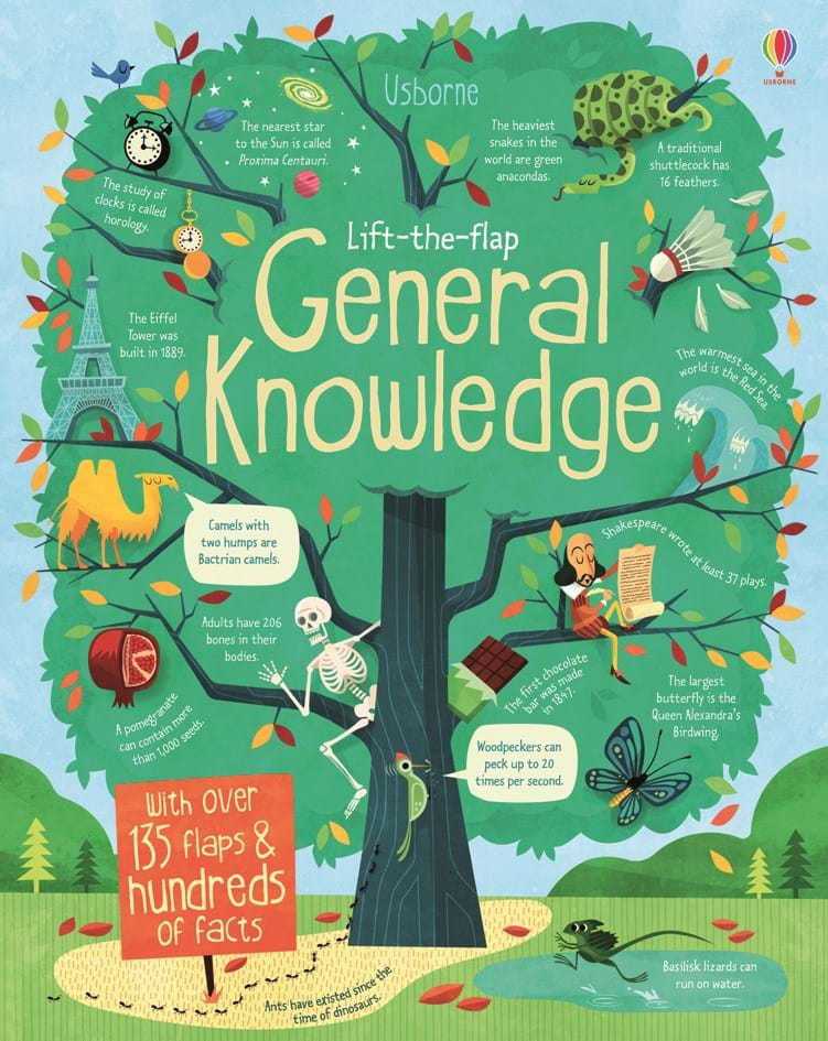 "Children S Book Covers Quiz : ""lift the flap general knowledge at usborne children s books"