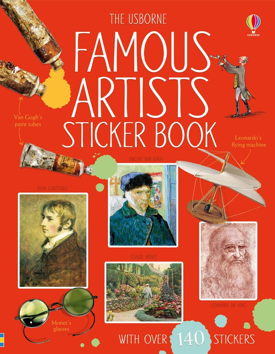 Famous artists sticker book at usborne books at home for Most famous house songs