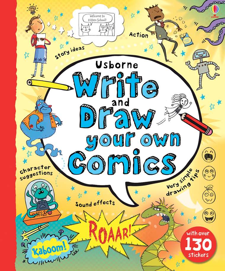 write and draw your own comics at usborne children s books