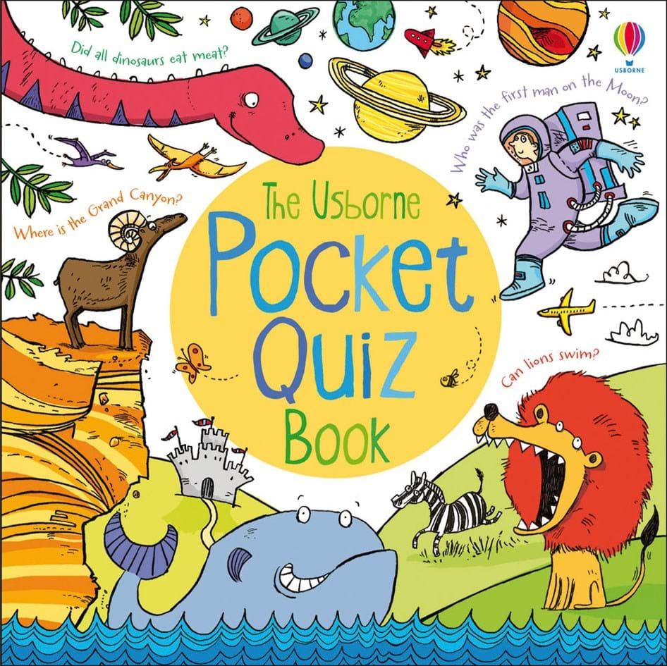 "Children S Book Cover Quiz : ""pocket quiz book at usborne children s books"