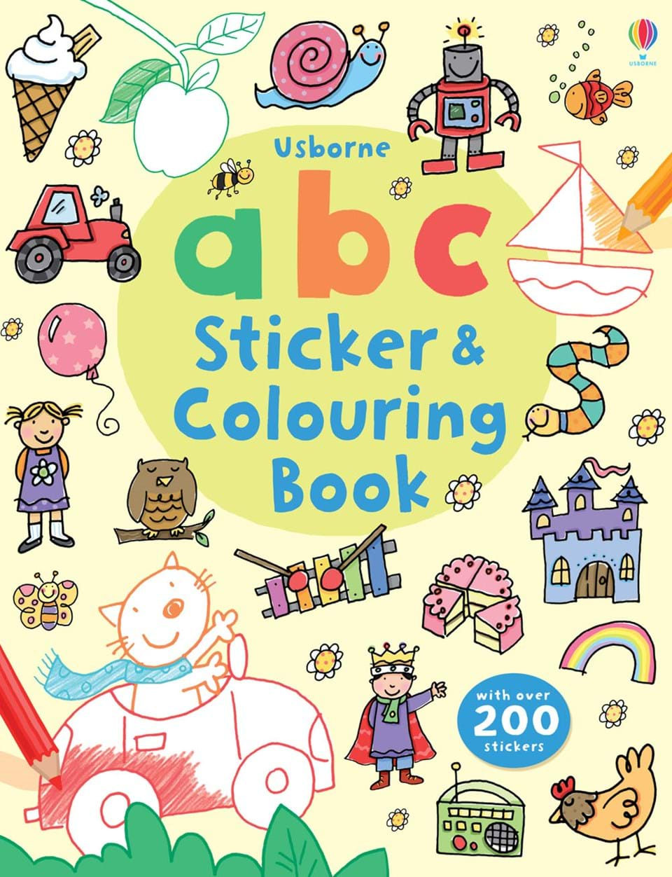 "ABC sticker and colouring book"" at Usborne Books at Home"