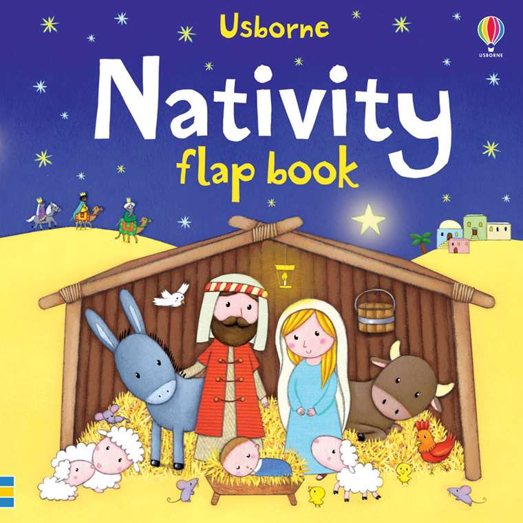 The Christmas Story Book.Nativity Flap Book At Usborne Children S Books