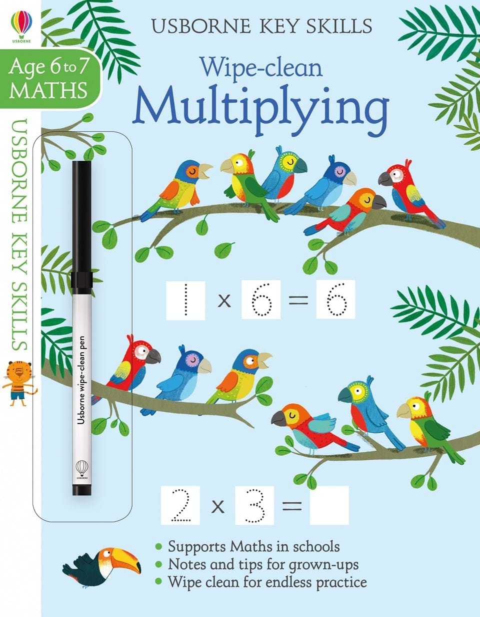 """Wipe-clean multiplying 6-7"""" at Usborne Books at Home"""