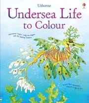Undersea life to colour