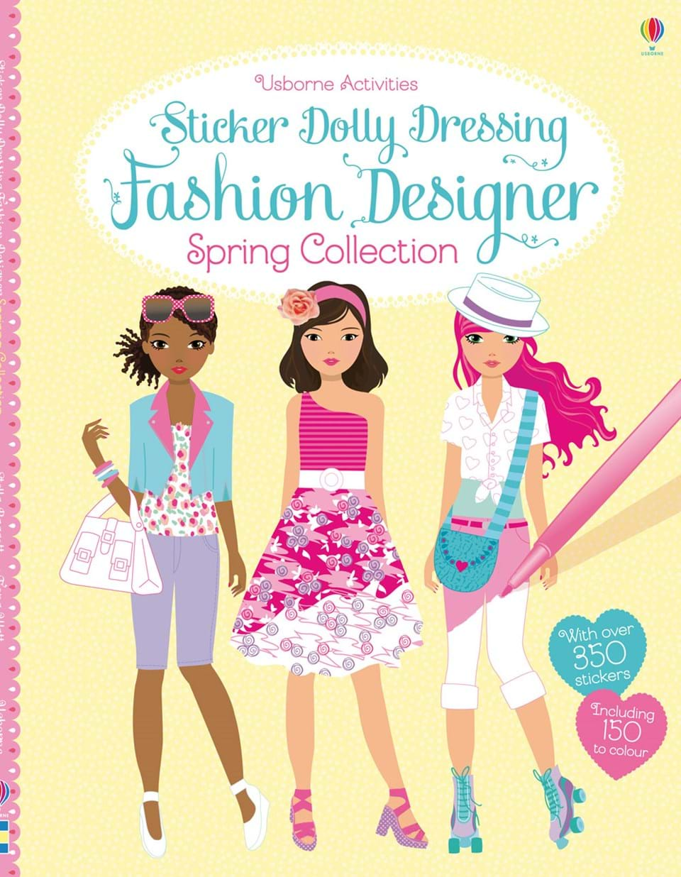 Fashion designer spring collection at usborne books at home for To be a fashion designer