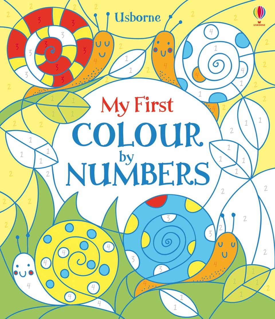"""My first colour by numbers"""" at Usborne Books at Home"""