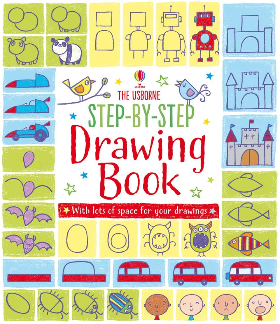 step by step drawing book - Drawing Books For Kids