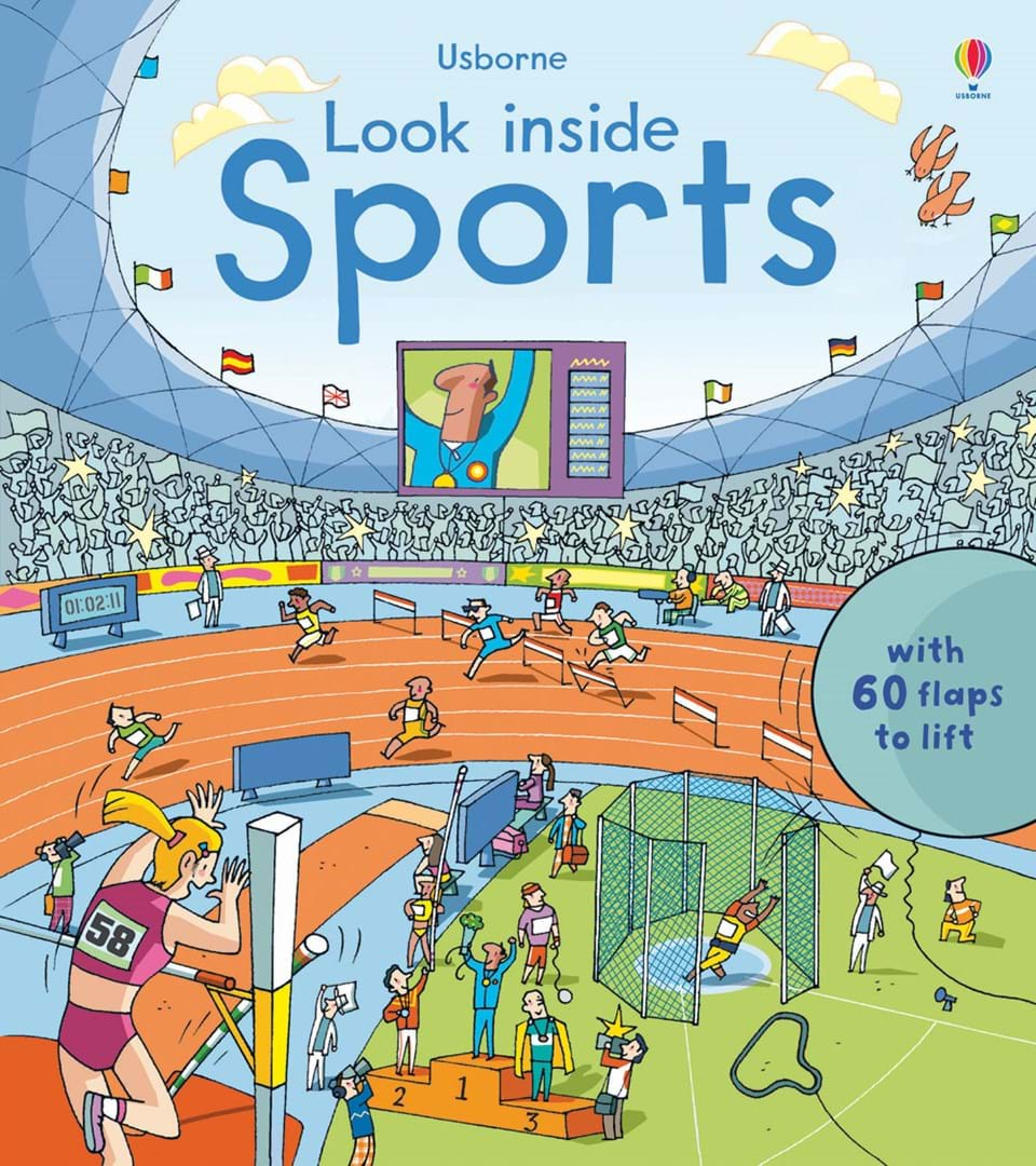 Look Inside Sports At Usborne Books At Home