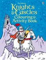 Knights and castles colouring and activity book