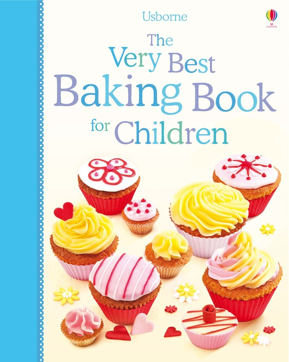 "Best Book Covers For Kids ~ ""the very best baking book for children at usborne"